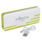 Аккумулятор мобильный Forza, 8000 мАч, 3 USB, фонарик
